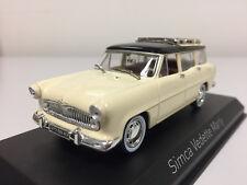 Norev Simca Vedette Marly 1957 jaune paille et noire  1/43 574055