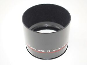 Canon Metal Lens Hood for 300mm F4 FD L Series Lens