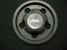 Black Center Cap OEM 87-06 JEEP Wrangler YJ TJ Wheel Hub  52-000-153