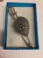 """Viking cara vfpp Faldita Pin Bufanda Broche Pin estaño emblema 3 """"de 7,5 Cm"""