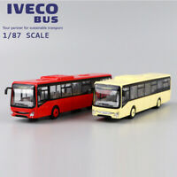 1/87 NOREV IVECO BUS CROSSWAY LOW ENTRY MODEL RED / YELLOW