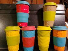 6 SCM Stoneware Coffee / Tea Tumblers