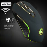 X9 Wireless Silent LED Backlit Gaming Mouse USB Rechargeable Ergonomic Mice ❀