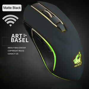 X9 Wireless Silent LED Backlit Gaming Mouse USB Rechargeable Ergonomic Mice ☆
