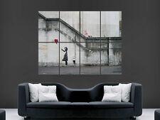 Banksy Palloncino Ragazza POSTER Londra c'è sempre speranza quadro arte muro grande