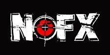 Nofx Vinyl Banner Flag Sign Punk Thrash Metal Rare Concert Poster