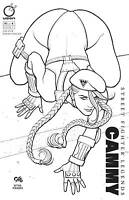 STREET FIGHTER LEGENDS CAMMY #1 FRANK CHO 1:20 SKETCH VARIANT COVER!
