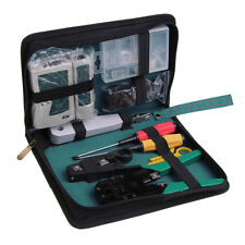 11 in 1 Professional Network Computer Maintenance Repair Tool Kit Set Toolbox