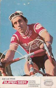 JOSE LUIS VIEJO Cyclisme Cycling Ciclismo SUPER SER 76 bicicleta Zeus Fahrrad