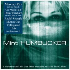 MERCURY REV DEAN WAREHAM CELLOPHANE RADIAL SPANGLE UBIK 'Mint Humbucker' CD