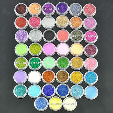 45 x Fine Nail Art Glitter Decoration Dust Powder Value Pack Eye Cosmetic #598
