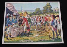 C283 Affiche scolaire MDI Général Hoche vendéens Bataille Valmy 91*68 cm ecole