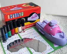 Nail Art Drawing Polish Stamper Printer Machine Set Nail Stamping Tools Kit