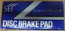BRAND NEW SEI FRONT BRAKE PADS 100.06210 / D621 FITS VEHICLES LISTED ON CHART