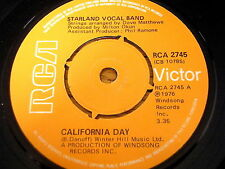 "STARLAND VOCAL BAND - CALIFORNIA DAY    7"" VINYL"