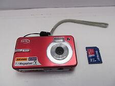 Digital Concepts 7.1 MP Megapixel Digital Point & Shoot camera W/ 2GB SD CARD.