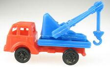 Baufahrzeuge 2 - Kranwagen - Fahrerkabine rot - Aufbau blau - Ü-Ei Autos LKW