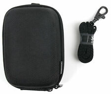 Hard EVA Case in Classic Black with Belt Loop for the Sony NW-A45 / AGPtek MM28