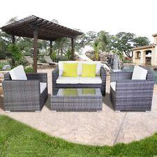 Gartenmöbel Sitzgruppen Gartengarnitur Garten Lounge Set Polyrattan Rattanmöbel