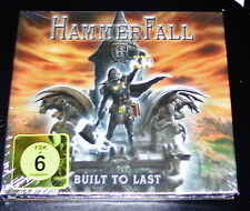 HAMMERFALL BULLIT TO LAST CD + DVD IM MEDIABOOK SCHNELLER VERSAND NEU & OVP