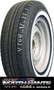 205/75x14 205X14 2057514 205/75/14 205/75R14 GALAXY 28MM WHITEWALL AMERICAN CARS