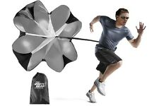 "OSG Soccer Sports 56"" Speed Resistance Training Speed Chute Running Parachute"