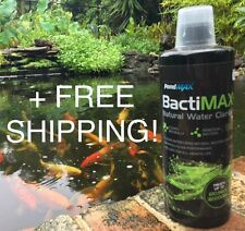 PondMAX - BactiMAX Natural Water Clarifier for Fish Ponds 940ml + FREE SHIPPING