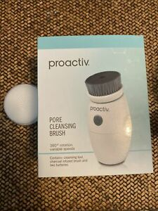Proactiv Pore Cleansing Charcoal Infused Face Brush Tool 2 Speeds Extra Head New