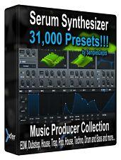 31000 xFer Serum Presets Pack - FL Studio, Bitwig Ableton Sonar Cubase, Logic
