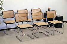 Thonet S32 Freischwinger - Bauhaus Klassiker Stühle schwarz - Breuer Chairs