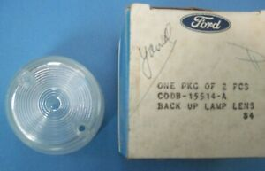 1960 1961 Falcon back up light lens new old stock in Ford box CODB-15514-A