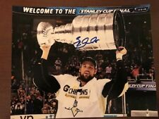 BRIAN DUMOULIN PITTSBURGH PENGUINS STANLEY CUP CHAMP SIGNED 8X10 PHOTO W/COA B