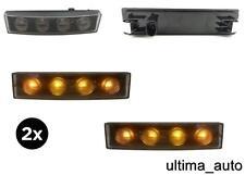 2x CAMION 24V LED ARANCIO COLOR AMBRA PARASOLE INDICATORE POSIZIONE LAMPADA