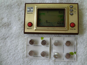 NINTENDO Parachute Game & Watch WORKS