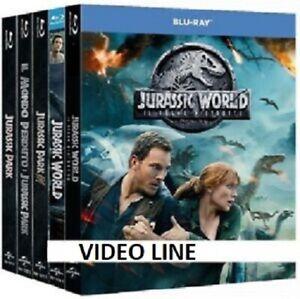 Blu Ray Jurassic Park Jurassic World 1-5 Collezione Completa (5 Film Blu Ray)