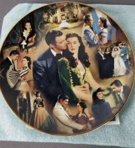 Gone With The Wind Scarlett Bradford American Classic Story Of Romance Plate