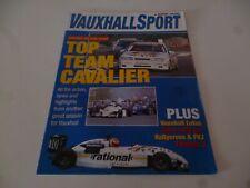 AUTOSPORT VAUXHALL SPORT SUPPLEMENT 1992 REVIEW BTCC ASTRA RALLY RALLYCROSS F3