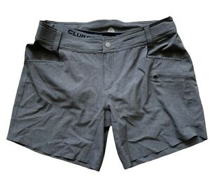 "CLUB RIDE WOMENS EDEN SHORT 7"" INSEAM W/ LINER GREY $99 LIGHTLY USED LARGE"