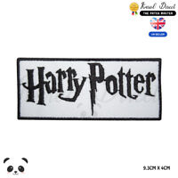 Harry Potter Embroidered Iron On Sew On Patch Badge For Clothes etc