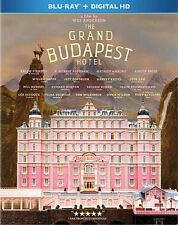 GRAND BUDAPEST HOTEL (Blu-ray Disc, 2014, Includes Digital Copy) NEW