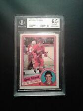 1984-85 Opee-Chee Hockey Cards #67 Steve Yzerman Rookie Card Beckett Graded.