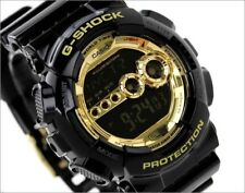 NEW Casio G-SHOCK Black X Gold Wrist Watch GD-100GB-1DR RRP $249