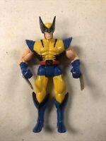 """Vintage 1996 Marvel Toy Biz Inc Wolverine 6""""  Slashing Claws"""