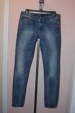 Women's ONLY Demimize the World Blue Jeans Denim Grace Low Skinny Stretchy 31 34