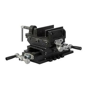 "40228103 Budget Pillar Press Drill Bench Cross Sliding Milling Workshop Vice 3"""
