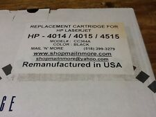 REMUNUFACTURED HP LASER JET CARTRIDGE MODEL CC364A  BLACK