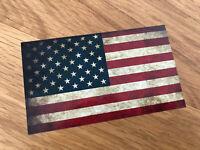 USA FLAGGE Aufkleber Sticker Flag Amerika Tuning Performance America V8 US Mi357