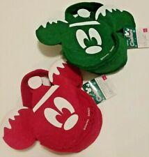 Daiso Japan Disney Mickey Mouse Red Felt Christmas Holiday Hat Treat Gift Bag 2