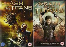 Clash Of The Titans / Wrath of the Titans Sam Worthington, NEW SEALED UK R2 DVD