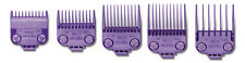 Andis Double Magnetic Combs Guides Set #0-4; Two Magnets on Each Guide #01410
